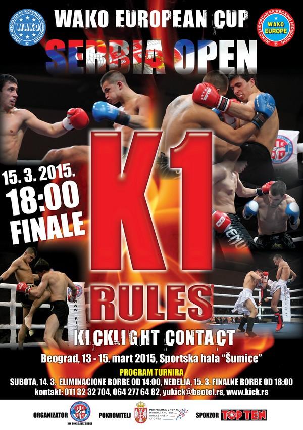 K1 serbia open 2015