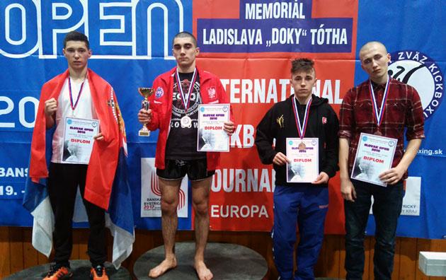Slovak Open pobednicko post