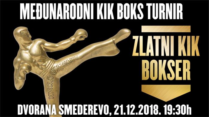Zlatni kikbokser turni