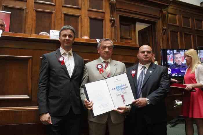 Dobitnik majske nagrade 2015. Miodrag Jotić