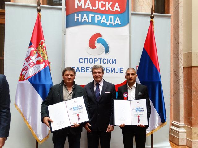 Dobitnik majske nagrade 2016. Nebojša Milošević