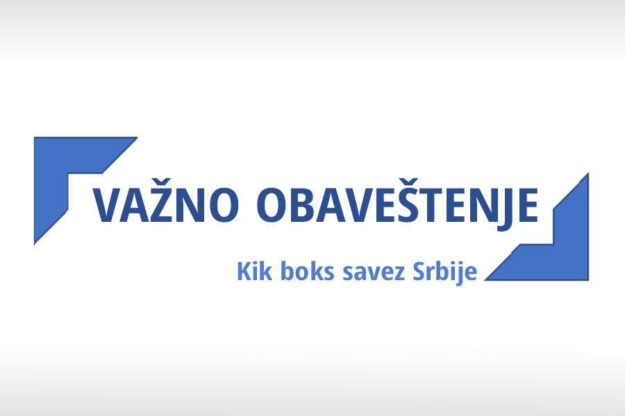 Odlaže se prvenstvo Srbije u Low kick-u