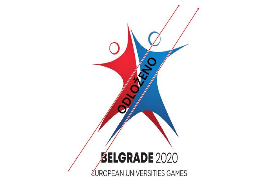 Evropske Univerzitetske Igre odložene za 2021. godinu