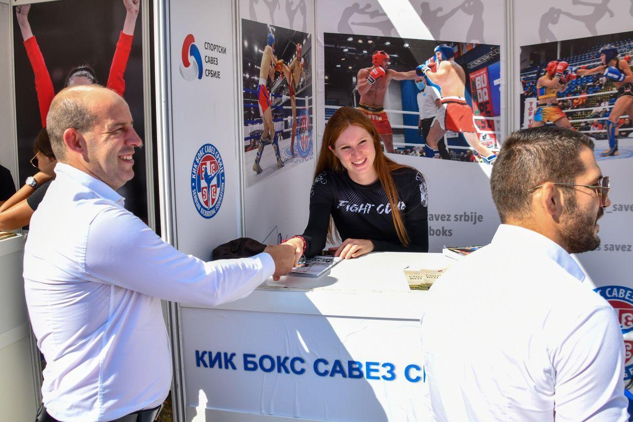 Kik boks na 10. međunarodnom sajmu sporta